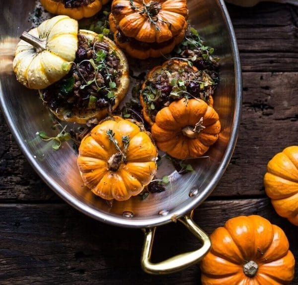 Nutty-Wild-Rice-and-Shredded-Brussels-Sprout-Stuffed-Mini-Pumpkins-1-600×574